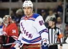 """""""Rangers"""" uzbrucējs Bučņevičs: """"Grūti noskatīties uz hokeja kvalitāti KHL"""""""