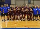 Lieliskais Meikulāna sniegums neglābj Latvijas U19 telpu futbolistus no zaudējuma