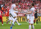 """Leipzig"" Bundeslīgas debitanti ""Union"" iesvēta ar 4:0"