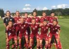 Timofejevam sarkanā kartīte, Latvijas U18 izlasei zaudējums arī trešajā spēlē Čehijā