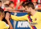 """16 gadus vecais Fati gūst vārtus, """"Barcelona"""" nepārtrauc """"Osasuna"""" sēriju un atkal neuzvar"""