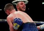 Lomačenko pieveic Kempbelu, WBA un WBO jostām pievienojot arī WBC titulu