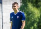 """Minhenes """"Bayern"""" rekomendācijas dēļ Ontužāns Latvijas izlasē septembrī nespēlēs"""