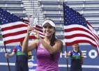 """Bartoni uzvarējusī kolumbiete kļūst par """"US Open"""" čempioni"""