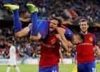 """""""Basel"""" apkauno Krievijas līderi, """"Arsenal"""" uzvar Vācijā, """"Dudelange"""" šokē Kiprā"""