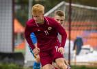 Jaunatne revanšējas par pieaugušajiem: U17 izlase iesit trīs vārtus Ziemeļmaķedonijai