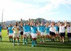 Urugvaja šokē regbija pasauli un pieveic Fidži