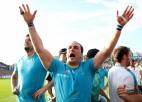 """Urugvajas kapteinis Gaminara: """"Uzvarai pār Fidži gatavojāmies četrus gadus"""""""