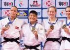 Arī Dolgiļēviča pasaules kadetu čempionātā netiek līdz cīņai par godalgām