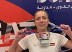 Video: Dohā nesanāk plānotā intervija ar Aneti Kociņu