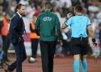 Bulgārijas futbola vadītājs Mihailovs pēc rasistisko fanu izdarībām spiests atkāpties