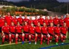 Latvijas U17 futbolistes sausā zaudē arī atlases otrajā mačā