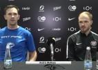 """Video: Kostusevs: """"Nenostrādājām aizsardzībā"""""""