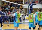 Latvijas volejbolisti Baltijas līgā zaudē visos trijos mačos