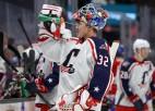 Merzļikins AHL debijā ielaiž divus vārtus un piedzīvo zaudējumu