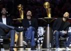 """""""Spurs"""" iemūžina Pārkera numuru, Lenards pret """"Raptors"""" iemet tikai 12 punktus"""