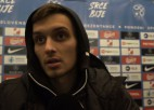 """Video: Fjodorovs: """"Tādu sitienu spēj <i>paņemt</i> tikai Oblaks un Robčiks"""""""