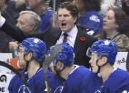 """Maple Leafs"" atlaiž NHL vislabāk pelnošo treneri Bebkoku"