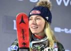 Šifrina uzvar Pasaules kausa posmā slalomā