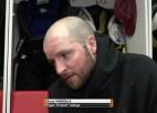 """Video: Ankipāns: """"Palikām bez diviem aizsargiem, pārējiem 3. periodā kājas neturēja"""""""