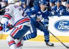 """Rubīna Toronto """"Marlies"""" AHL mačā teju atspēlējas no četru vārtu deficīta"""