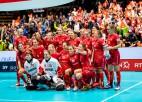 Šveicietes tiek galā ar Somijas izlasi