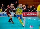 Grāpēnai gūstot goda vārtus, Latvija kapitulē pasaules čempionēm