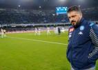 """Gatuzo ļoti neveiksmīga debija """"Napoli"""" galvenā trenera amatā"""