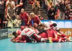 Pasaules čempionāta finālā cīnīsies Zviedrija un Šveice