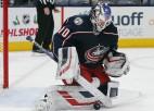 Merzļikina komandas biedrs Korpisalo izraudzīts dalībai NHL Zvaigžņu spēlē