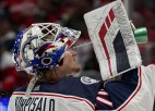 No savainojuma atlabušais vārtsargs Korpisalo uz laiku nosūtīts uz AHL