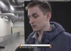 """Video: Kalniņš: """"Ja dotu iespēju NHL, noteikti brauktu un mēģinātu"""""""