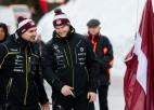 Ķibermanim un Bērziņam starts Īglsā, Melbārdis un citi latvieši uz Siguldas ledus