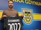 """Oficiāli: Šteinbors pagarina līgumu ar """"Arka"""" uz vēl diviem gadiem"""