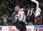 Merzļikins - NHL uzvarām bagātākais vārtsargs gada sākumā