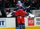 Merzļikins tiek atzīts par NHL nedēļas otro zvaigzni