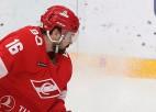 Daugaviņš gūst vārtus ceturtajā KHL spēlē pēc kārtas
