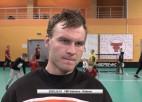 """Video: Zēmelis: """"Pret Valmieru vienmēr gribās uzvarēt"""""""