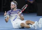"""Tīms Melburnā trešo reizi spēlēs """"Grand Slam"""" finālā"""