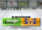 """Video: Saulietim divi skaisti vārti un """"Mogo"""" gūst uzvaru pār hokeja skolas """"Rīga"""" komandu"""