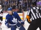 """""""Coyotes"""" neieskaita vārtus pagarinājumā, Toronto izrauj dramatisku uzvaru"""