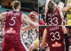 Uzvārdu sajukums: Latvijas izlases starta pieciniekā divi Mejeri