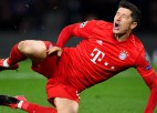 """Trieciens """"Bayern"""" nometnē: Levandovskis traumas dēļ nespēlēs aptuveni mēnesi"""