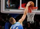 Video: Porziņģis dodas caurgājienā un finišē ar danku, tiekot NBA labākajos momentos