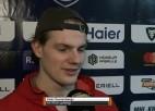 """Video: Švanenbergs: """"Esam gatavi lauzt sēriju un tikt nākamajā kārtā"""""""
