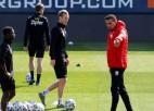 Austrijas līgas līderei atņemti seši punkti par kontakta treniņiem pandēmijas laikā