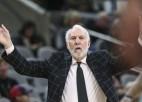 Atsākoties NBA, vecāka gadagājuma treneri varētu netikt pielaisti mačiem