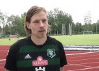 """Video: J. Gorkšs: """"Nevarēju iedomāties, ka kādreiz būšu vienā komandā ar Astafjevu, Piedelu un Kožanu"""""""
