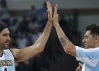 Argentīnas izlases leģenda Delfino pēc gada izlaišanas atgriežas basketbolā