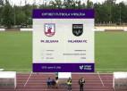 """Video: """"Valmiera"""" atspēlē vienu vārtu deficītu un uzvar """"Jelgavu"""""""